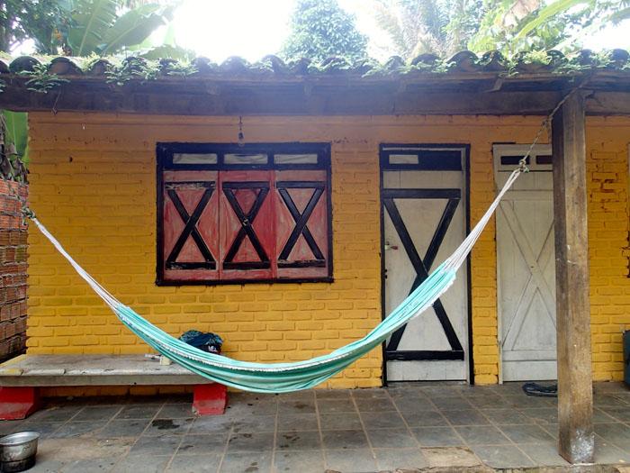 Notre bungalow que nous avons repeint en parti !