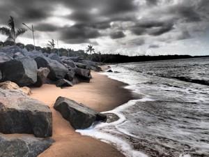 Photo d'une plage de Porto Seguro