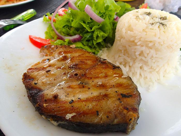 Image de poisson grillé