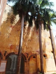 Photo d'une jolie façade dans Carthagène des indes