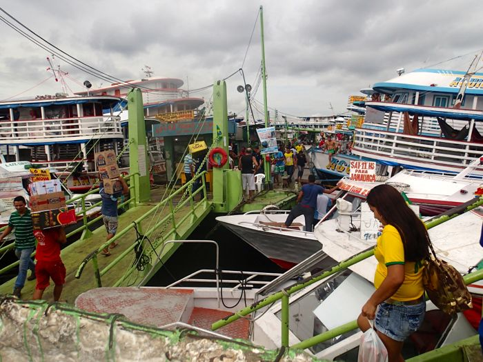 Photo du port de Manaus