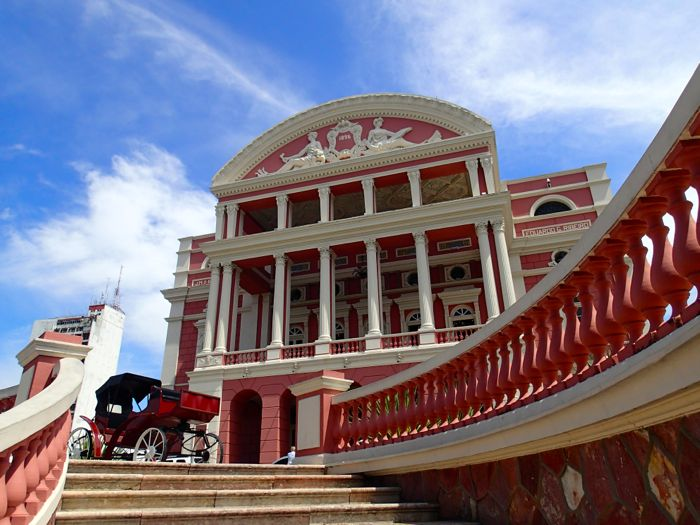 photo du teatro Amazona a Manaus