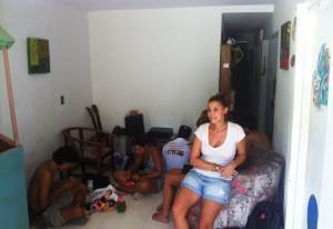 Notre hote couchsurfing