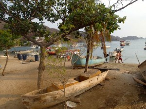 Photo de la plage de Taganga