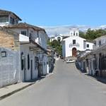 Rue de Popayán menant à l'église la Ermita