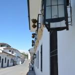Perspective d'une rue à Popayán
