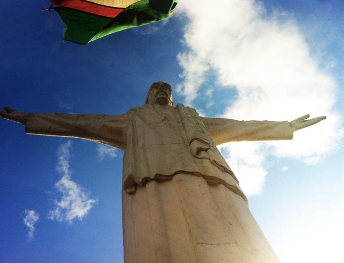 Vue du Cristo Rey surplombant Cali et la Vallée del Cauca