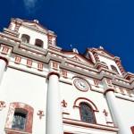 L'église Señora del Carmen sur la place du village