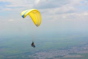 Expérience de saut en parapente prés de Cali, vallée del Cauca