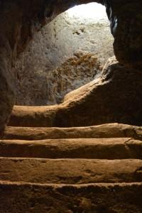 Escalier hypogée