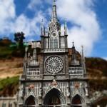 Le sanctuaire de las lajas en Equateur