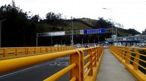 Frontière Equatorienne