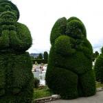 Sculptures dans le cimetière de Tulcan