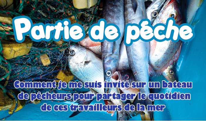 Couverture article sur session de peche a pedernales