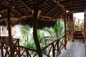 Le lodge Rutamar à Canoa