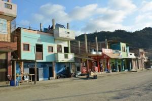 Les rues de Puerto Lopez