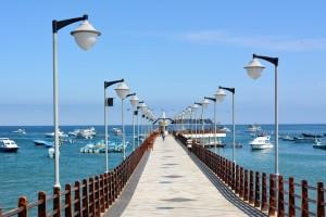 Le muelle (Quai) de Puerto Lopez, départ de toutes les excursions