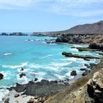 Vue des falaises de la isla de la plata