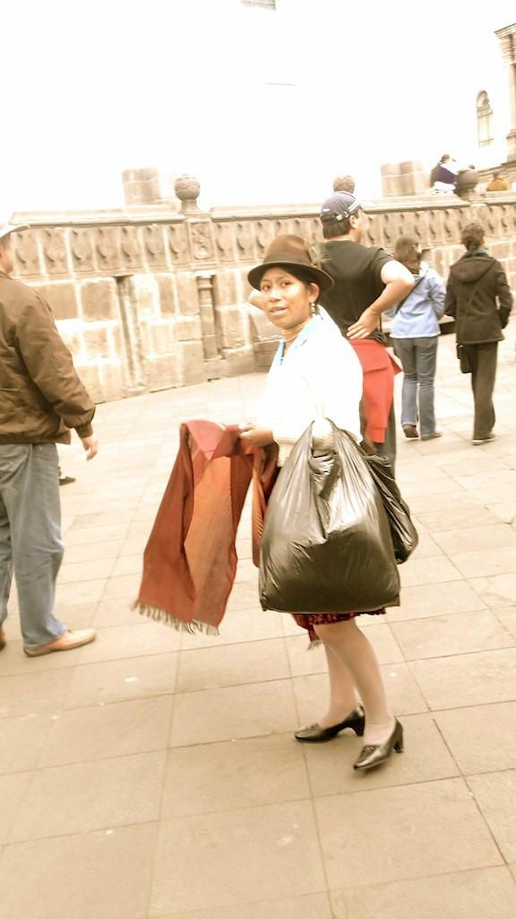 Femme équatorienne - Quito - Equateur