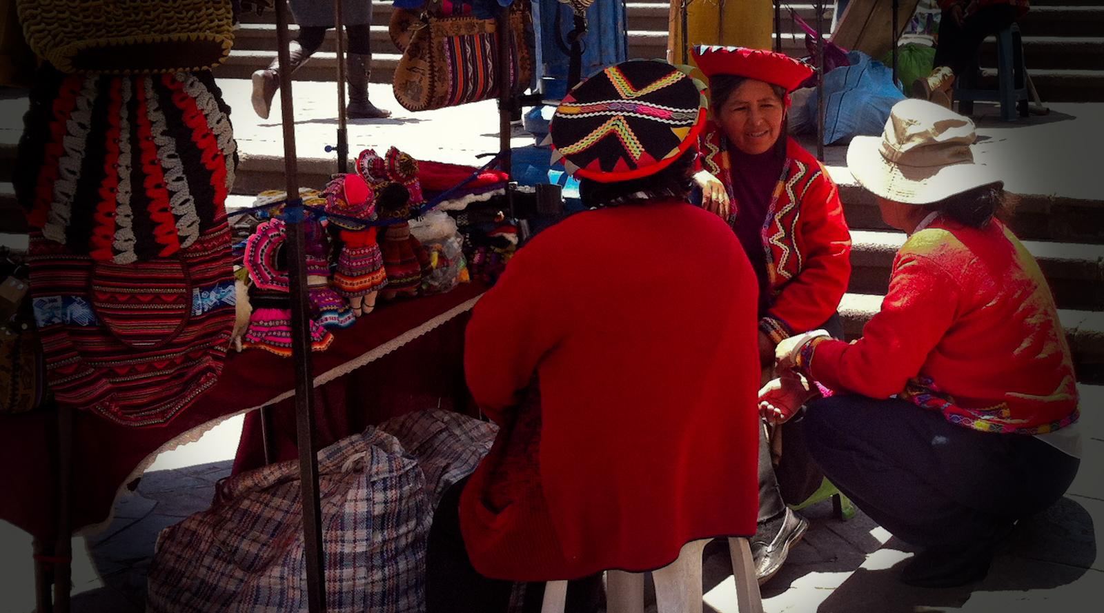Au marché à Cusco - Pérou