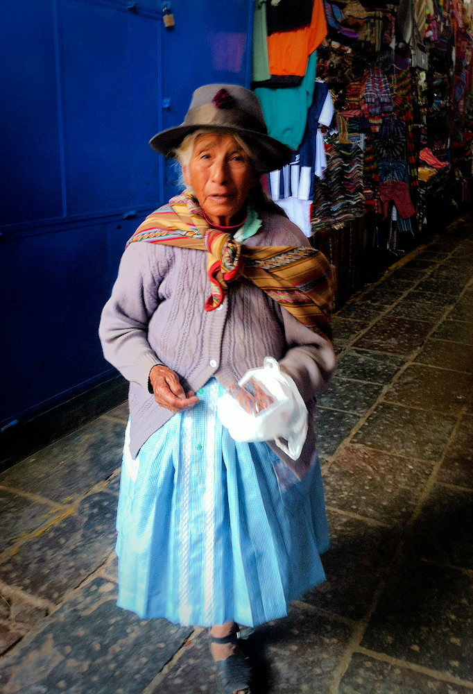 Femme - Cusco - Pérou