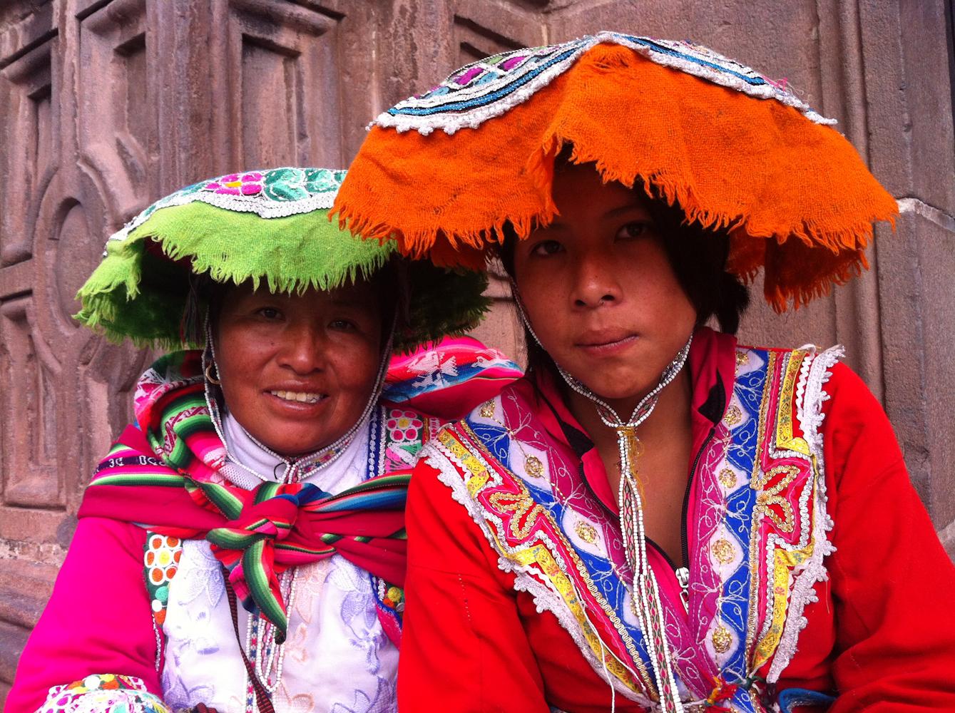 Femmes en tenue traditionnelle - Cusco - Pérou
