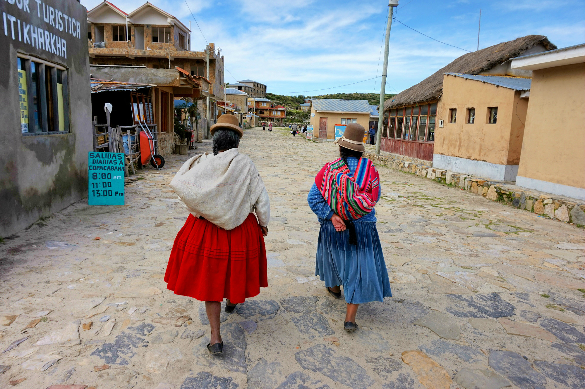 Femmes - Isla del sol - Bolivie