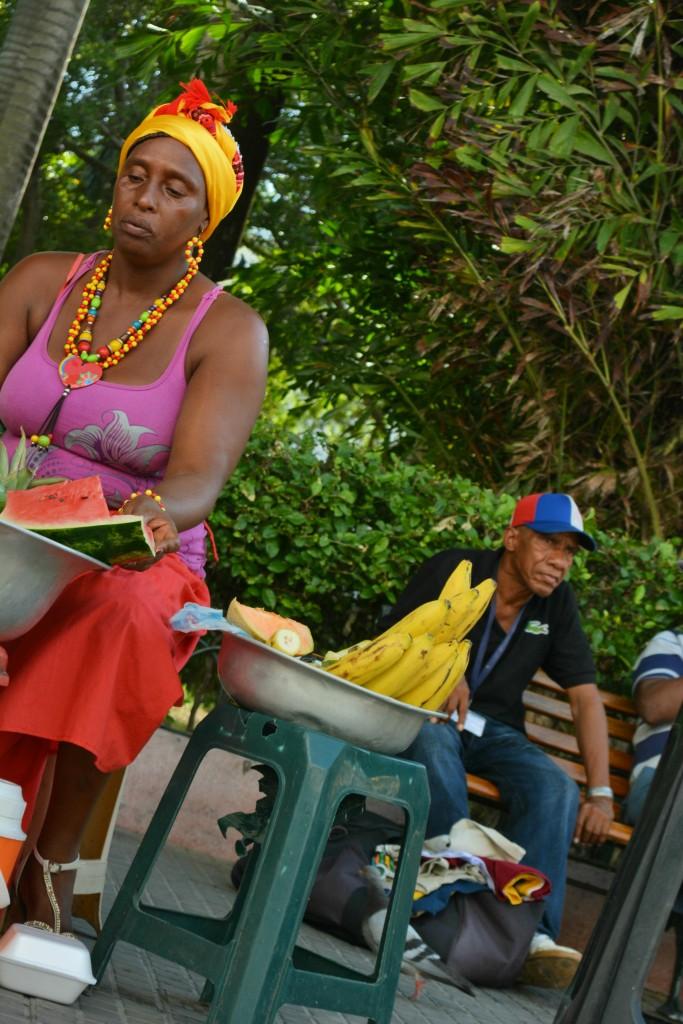 Femme - Carthagène - Colombie