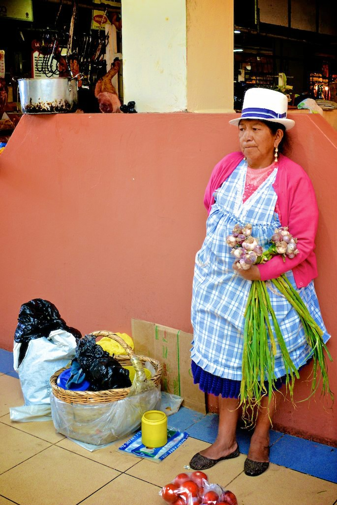 Marché de Cuenca - Equateur