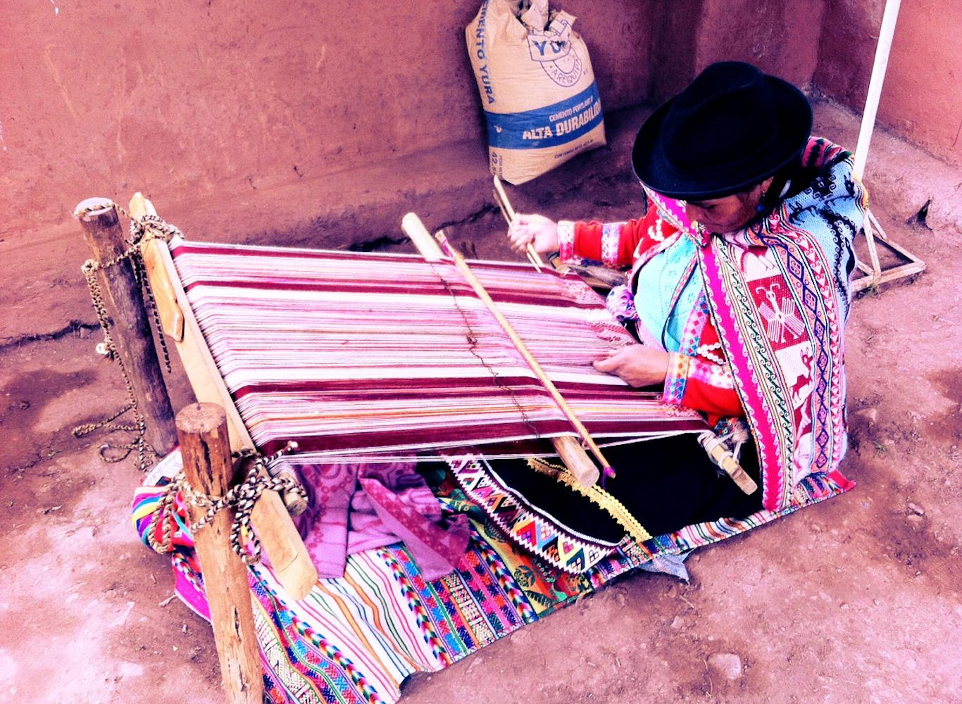 Tisseuse Vallée Sacré - Pérou